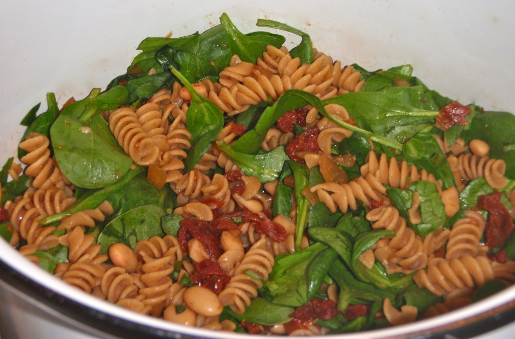 Sun-dried Tomato And Spinach Pasta Recipe — Dishmaps