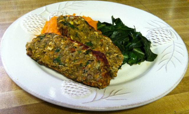 Lentil Meatloaf