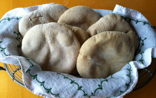 vegan pita bread
