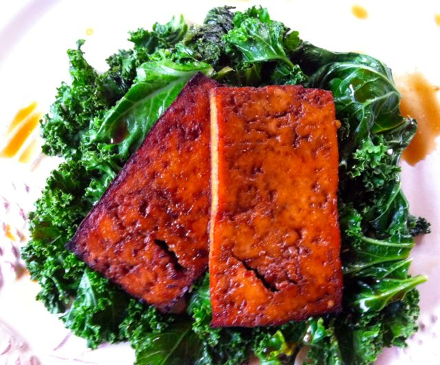 Vegan Broiled Asian Tofu