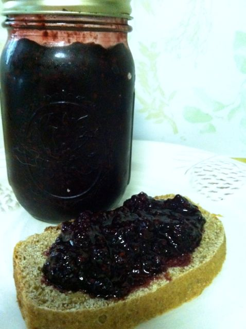 vegan blackberry jam