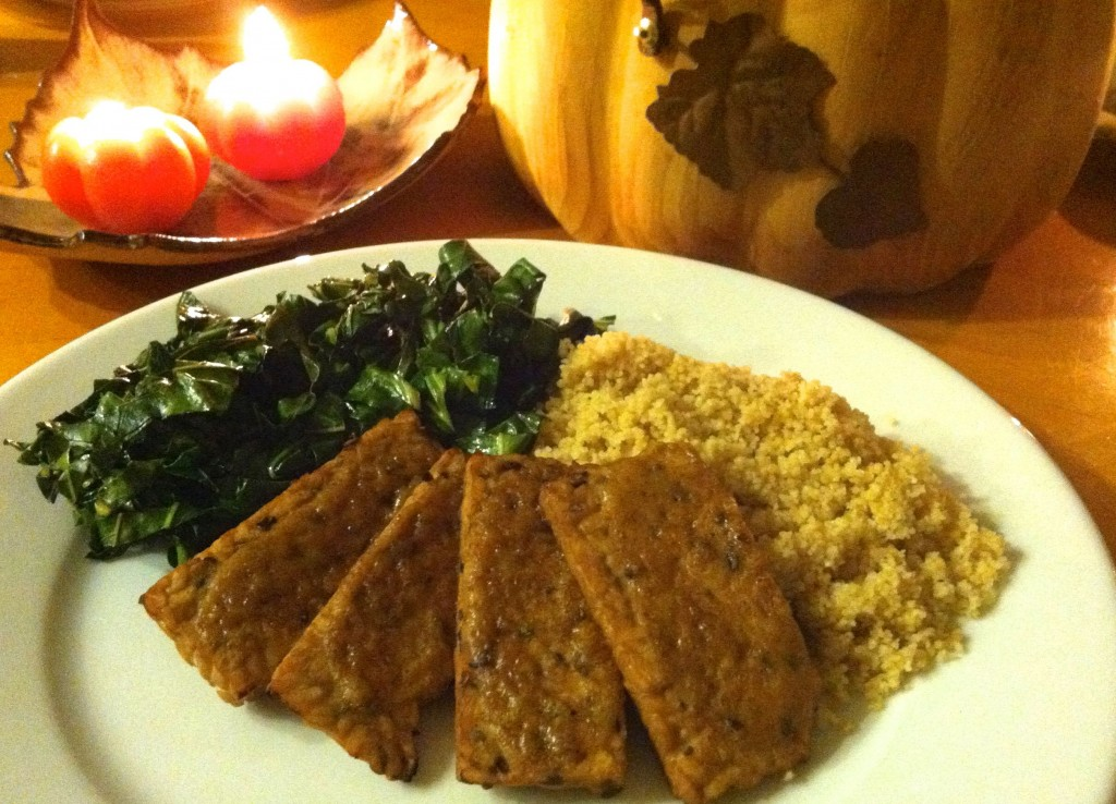 Honey Mustard Tempeh