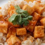 sriracha garlic tofu