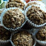 Vegan Peanut Butter Oatmeal Muffins