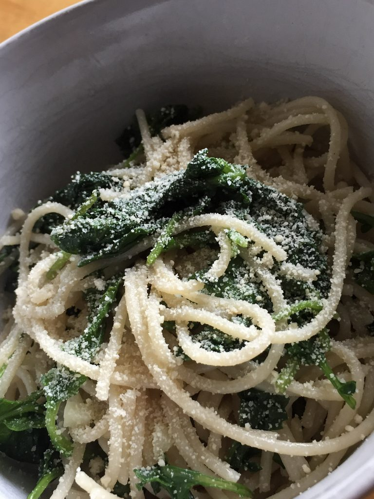 Lemon Kale Pasta
