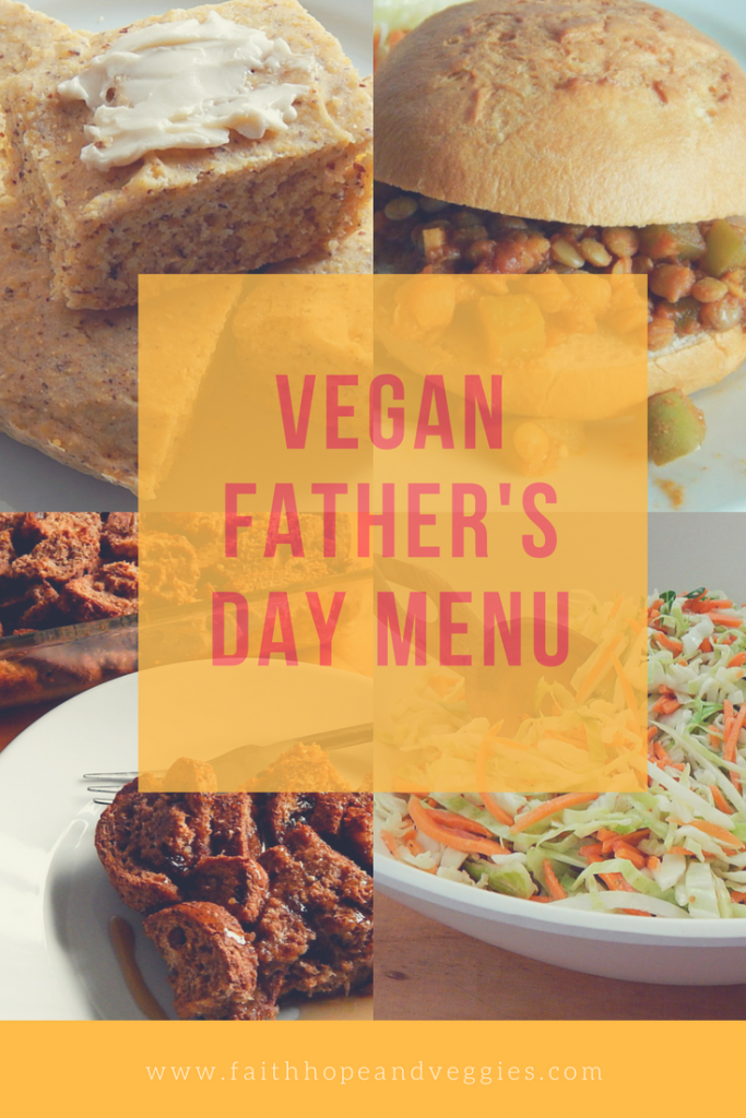 vegan father's day